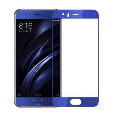 小米6手機3D熱彎滿版鋼化玻璃膜