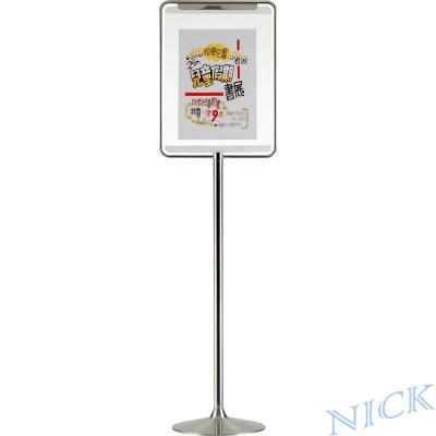 NICK 中型直式不鏽鋼告示牌