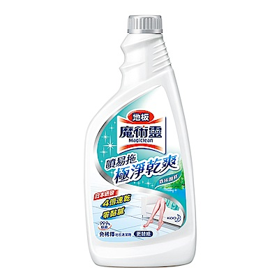 地板魔術靈清潔劑  噴易拖森林湖畔更替瓶 (500ml)