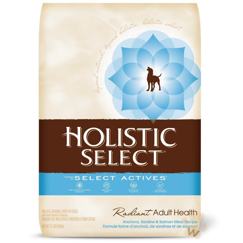 新鷹格Holistic Select《成犬-三種魚配方》活力滋WDJ推薦首選天然犬糧-6磅