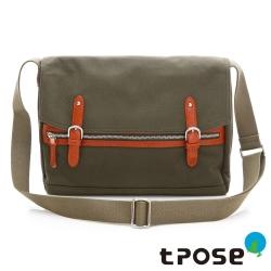 tripose YOLO系列 商務旅行3C斜背包(大) - 綠