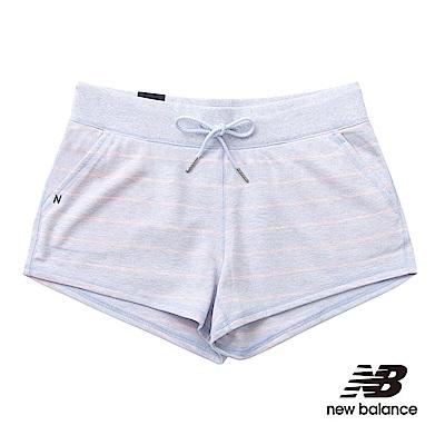 New Balance 條紋針織短褲 WS61507MIR 女性 淺紫