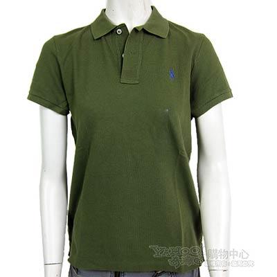 Ralph Lauren 素面小馬POLO女衫(抹茶綠)