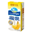 福樂 香蕉口味保久乳(200mlx24入)