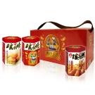 幸福小胖海洋王宮尊爵禮盒辣味2盒(瑤柱燒x2+小卷x1/盒)