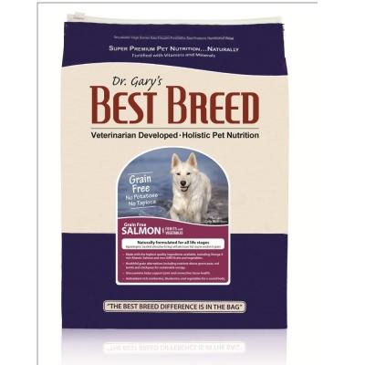 BEST BREED貝斯比《全齡犬無榖鮭魚+蔬果配方-BBF1301GF》1.8kg