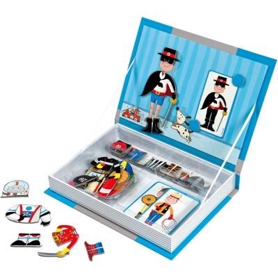 法國Janod 磁鐵遊戲書-男孩變裝秀