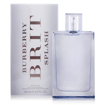 BURBERRY Brit splash海洋風格男性淡香水(100ml)