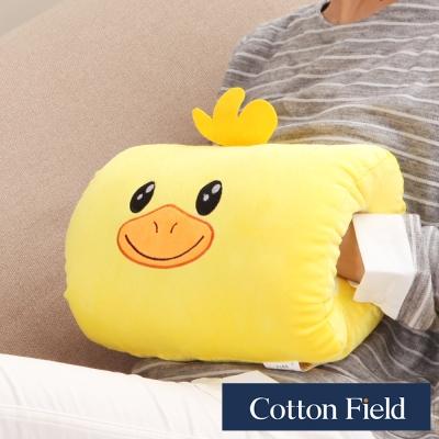 棉花田 小鴨 可愛造型多功能暖手抱枕