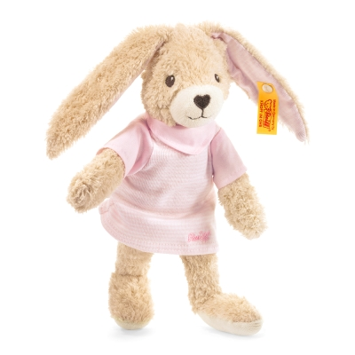 STEIFF德國金耳釦泰迪熊 - Hoppel Rabbit 20cm (北鼻玩偶)