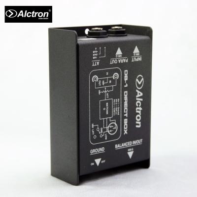 ALCTRON DB-1被動式單聲道DI BOX阻抗器