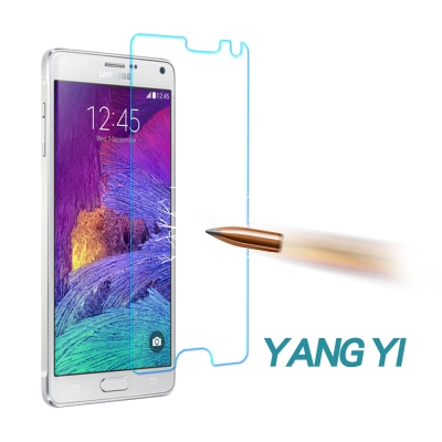 YANG YI 揚邑 Samsung Note 4 防爆鋼化玻璃保護膜(非滿版)