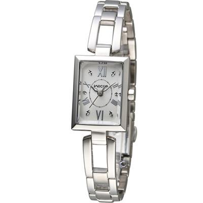 CITIZEN 星辰 WICCA 俏麗時尚蜜糖魅力腕錶(BE1-011-11)-白/18mm