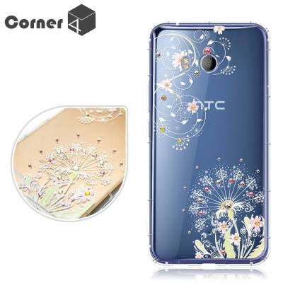 Corner4 HTC U11 奧地利彩鑽防摔手機殼-彼岸花