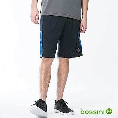 bossini男裝-速乾針織短褲01海軍藍