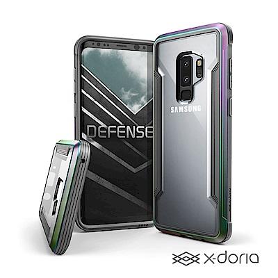 x-doria SAMSUNG S9 plus 刀鋒極盾防摔手機殼 - 繽紛虹