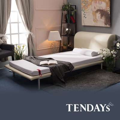 TENDAYS-柔織舒壓床墊-標準單人3尺-6cm厚