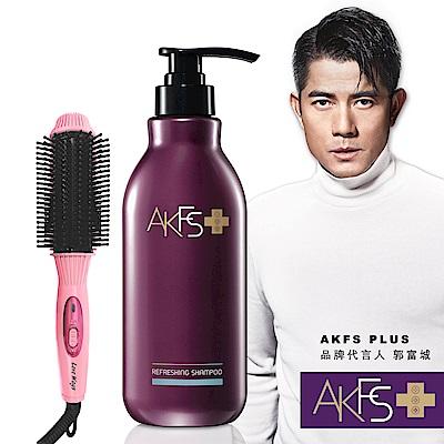 AKFS PLUS 洗髮露400ml +羅崴詩八排式電熱造型梳 @ Y!購物