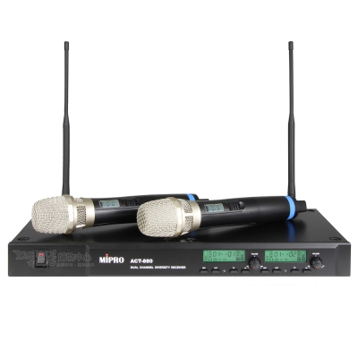 MIPRO ACT-880 112CH雙頻道自動選訊無線麥克風