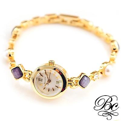 BELLUCY 魅力女伶手鍊錶(時尚黑)