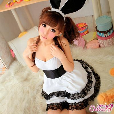 【Caelia】魔幻派對!超萌兔女郎四件組