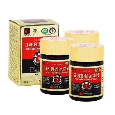 金蔘 6年根韓國高麗紅蔘精(50gx3瓶)