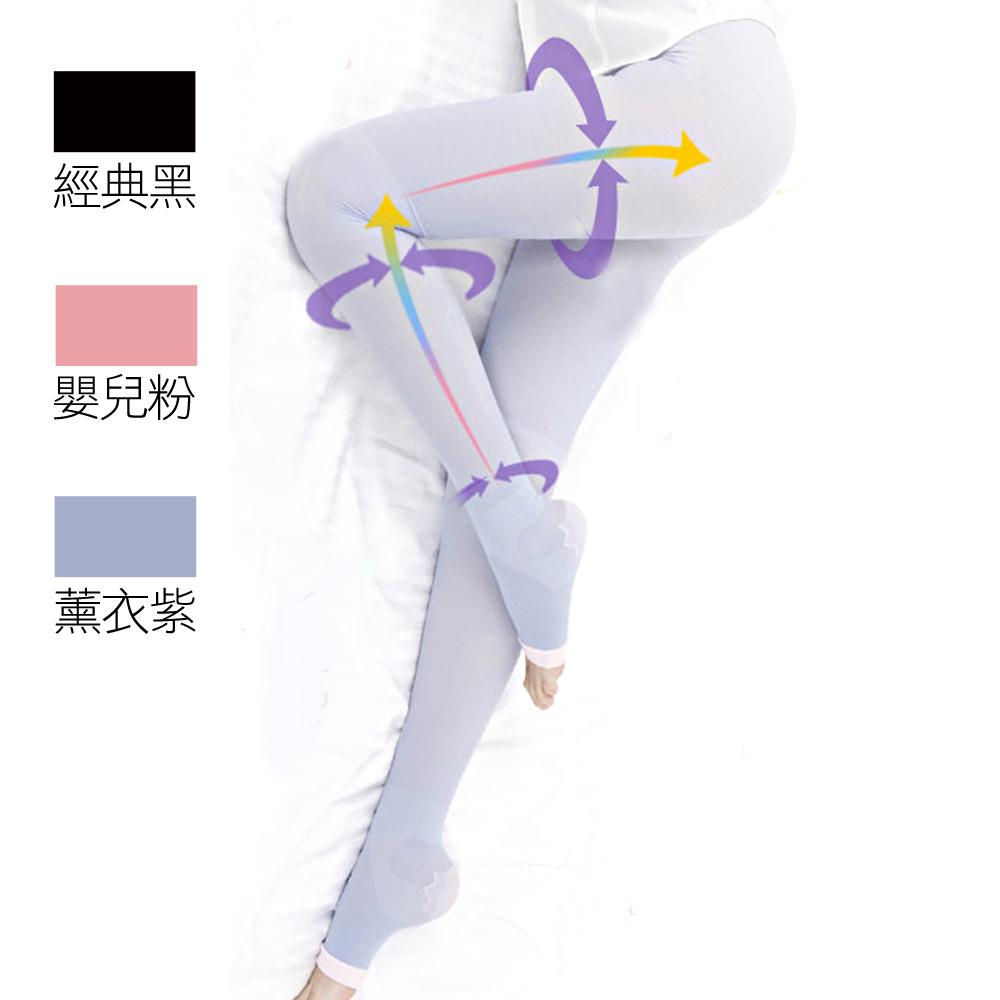 Dr.Douxi朵璽 【心機魔塑】提臀修長感機能九分襪 三款供選