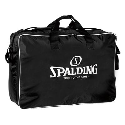 SPALDING 六顆裝籃球袋  黑