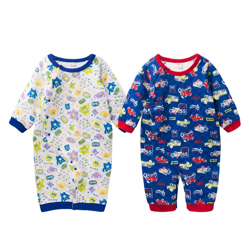 baby童衣 連身衣 滿版可愛卡通睡袋兩用41316