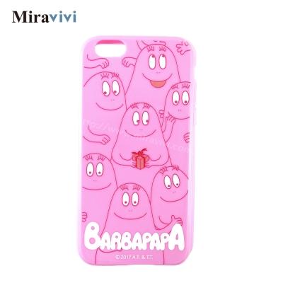 BARBAPAPA泡泡先生iPhone 6/6S(4.7吋)粉色空壓保護套