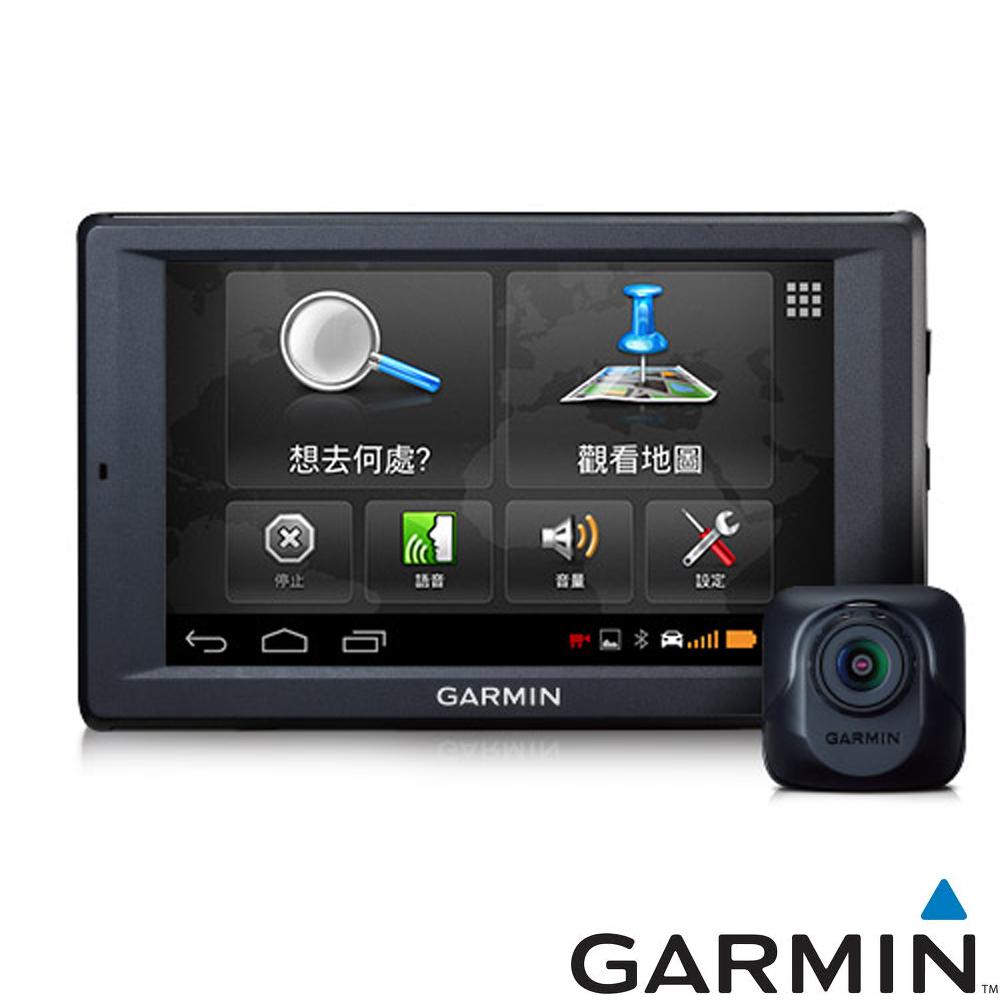 [快]GARMIN nuvi 4592R Wi-Fi多媒體衛星導航行車記錄器組