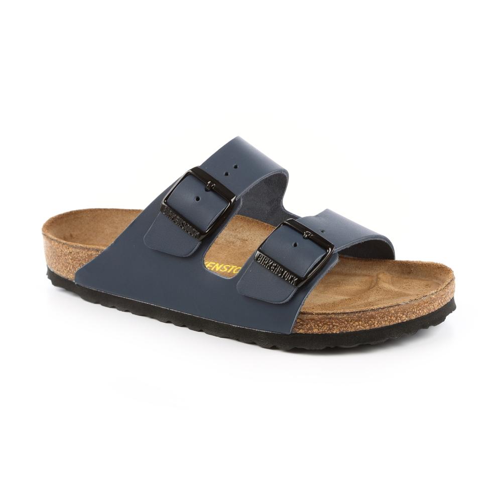 勃肯BIRKENSTOCK 051151亞利桑那 經典二條拖鞋(藍)