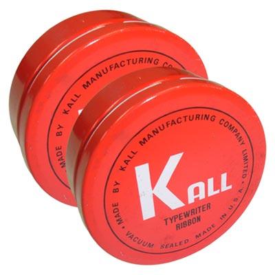 KALL  K.O.N 傳統手動機械式打字機 黑色色帶(1組2入)