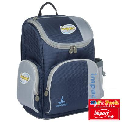 IMPACT-怡寶標準型舒適護脊書包-深藍 IM0052ANY