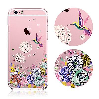 apbs iPhone6s/6 4.7吋 施華洛世奇彩鑽手機殼--蜂鳥