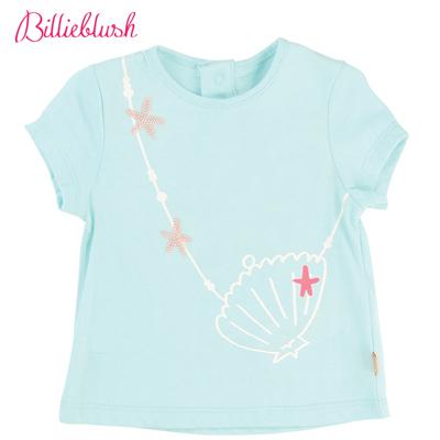 Billyblush貝殼背包藍色T恤