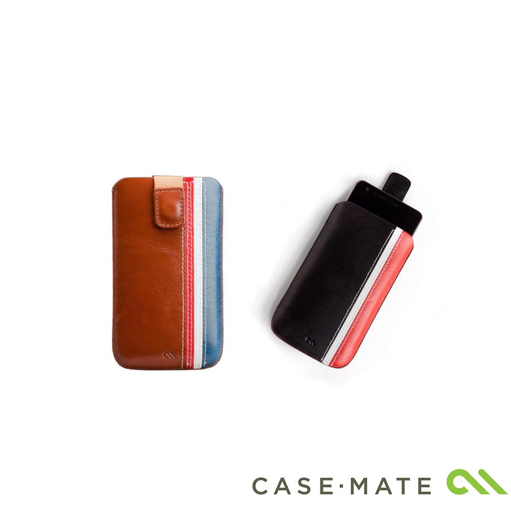 Case-Mate iPhone 4/4S 賽車線條真皮保護套