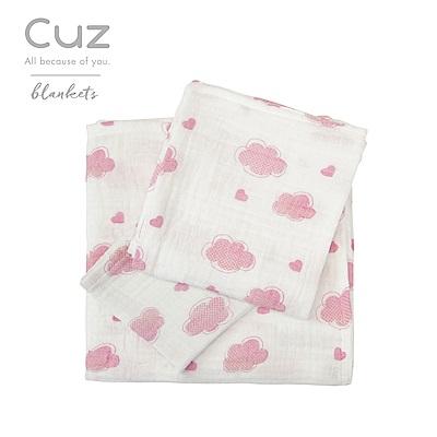 Cuz-雲朵情人節(紗布巾)115cm