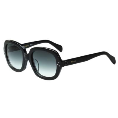 CELINE- 圓面復古 太陽眼鏡 (黑色)CL41013FS