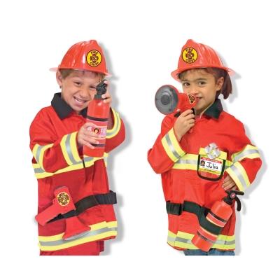美國瑪莉莎 Melissa & Doug  消防服遊戲組
