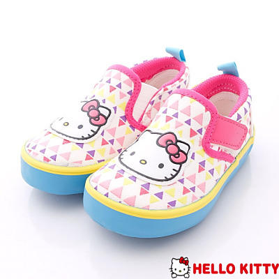 HelloKitty童鞋-繽紛節慶易穿脫鞋款-715912白(中小童段)N