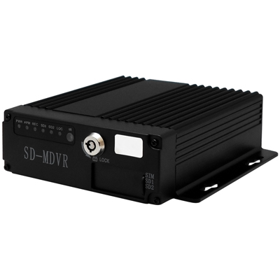 【CHICHIAU】4路AHD 720P 車載防震型雙插卡式數位類比兩用監控錄影主機