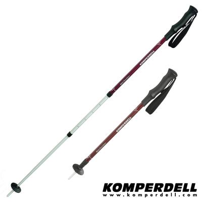 KOMPERDELL WILD RAMBLER 橡膠握把健行登山杖(雙支銷售)