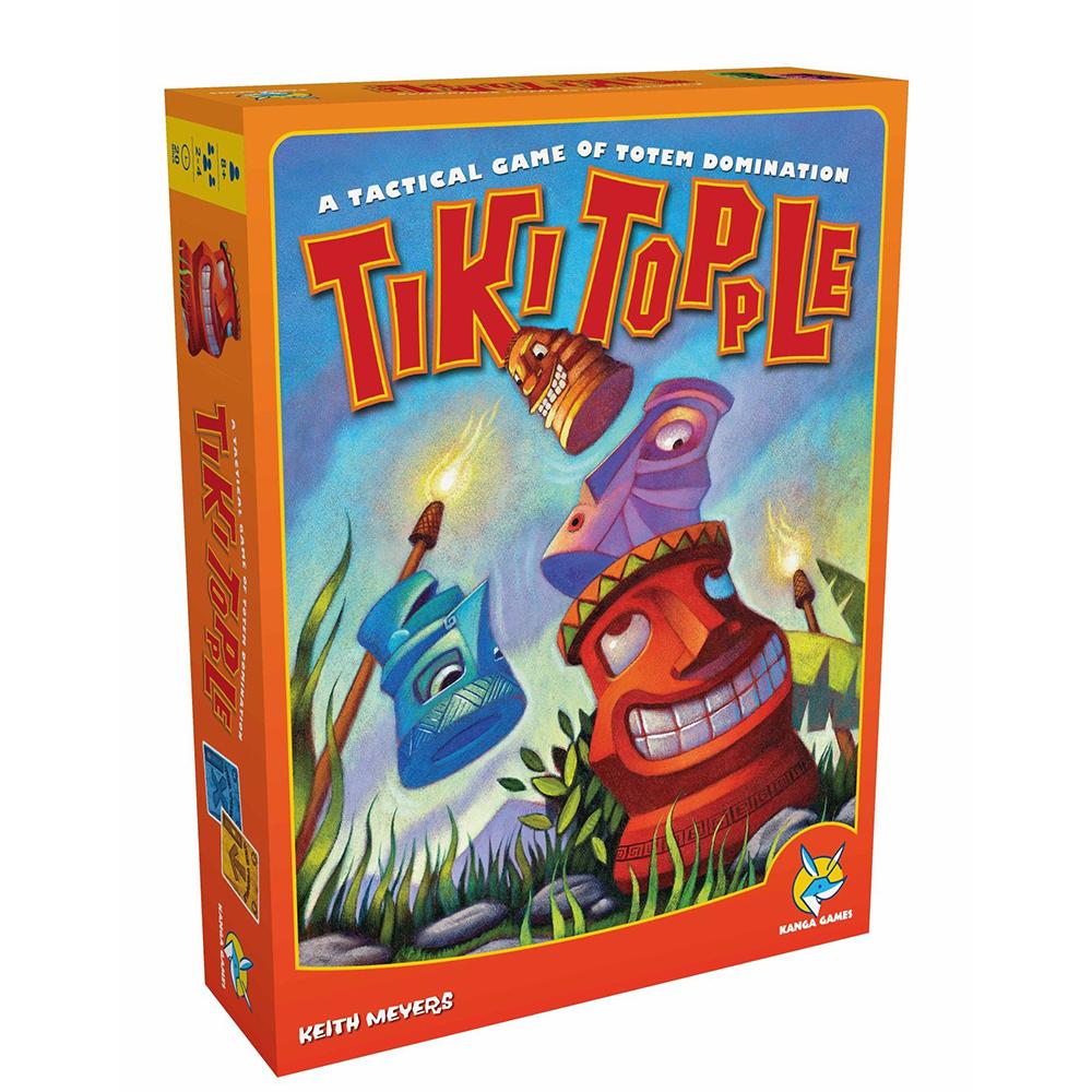 歐美桌遊推倒提基Tiki Topple中文版桌遊