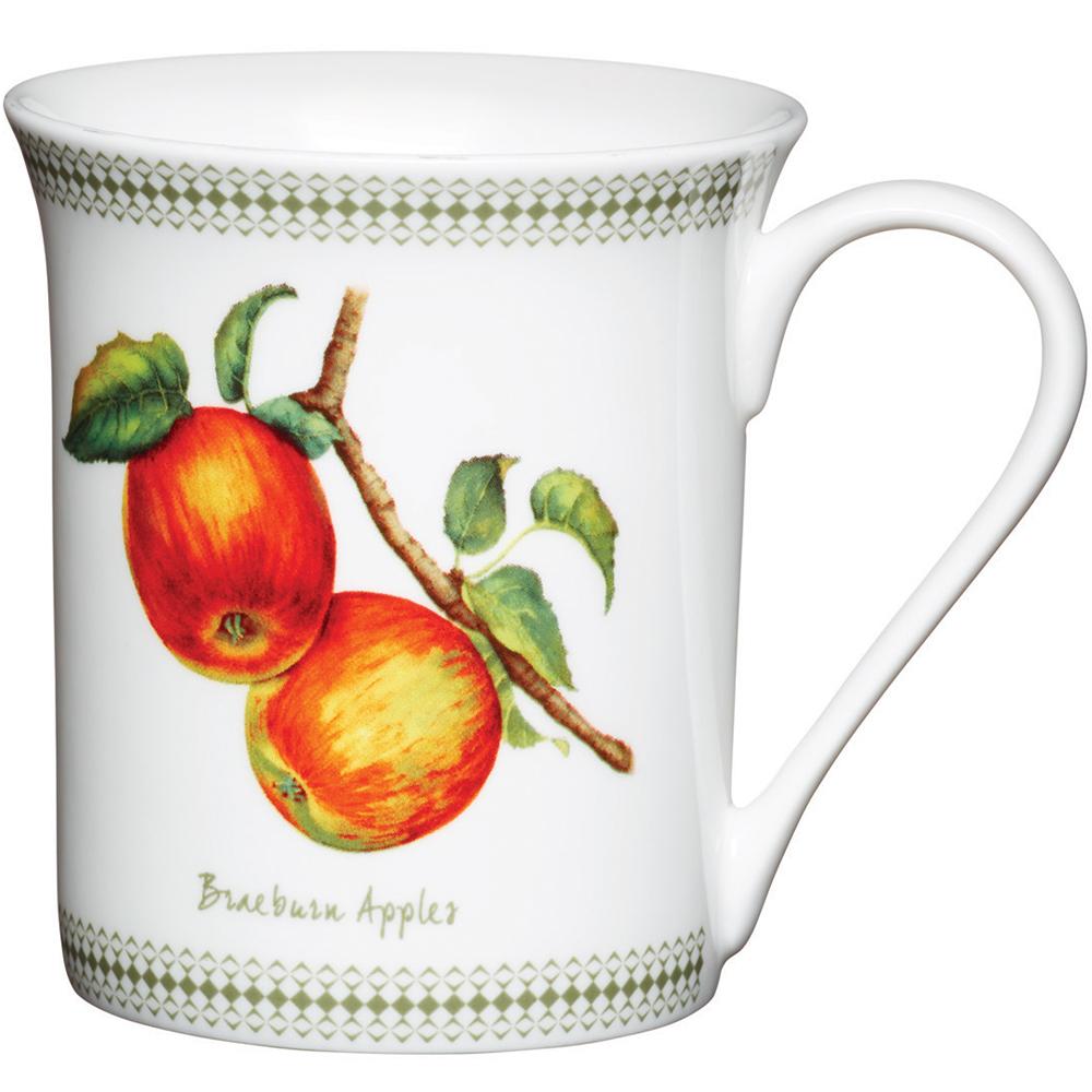 KitchenCraft 骨瓷馬克杯(蘋果)