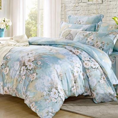 Lily Royal 天絲 雙人-四件式兩用被床包組-白色戀人