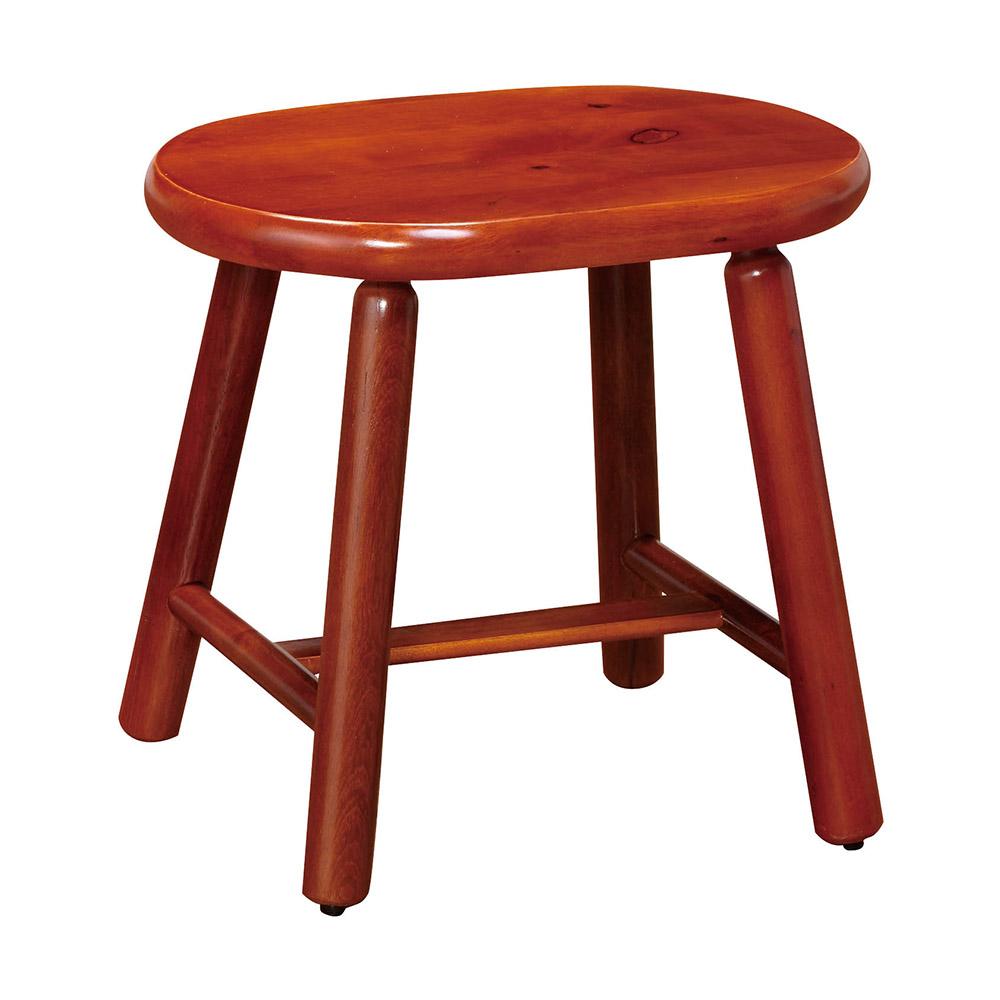 H&D 高實木雞蛋椅凳 (寬38X深26X高36cm)