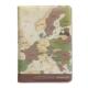 FUNZAKKA 世界地圖護照套-復古