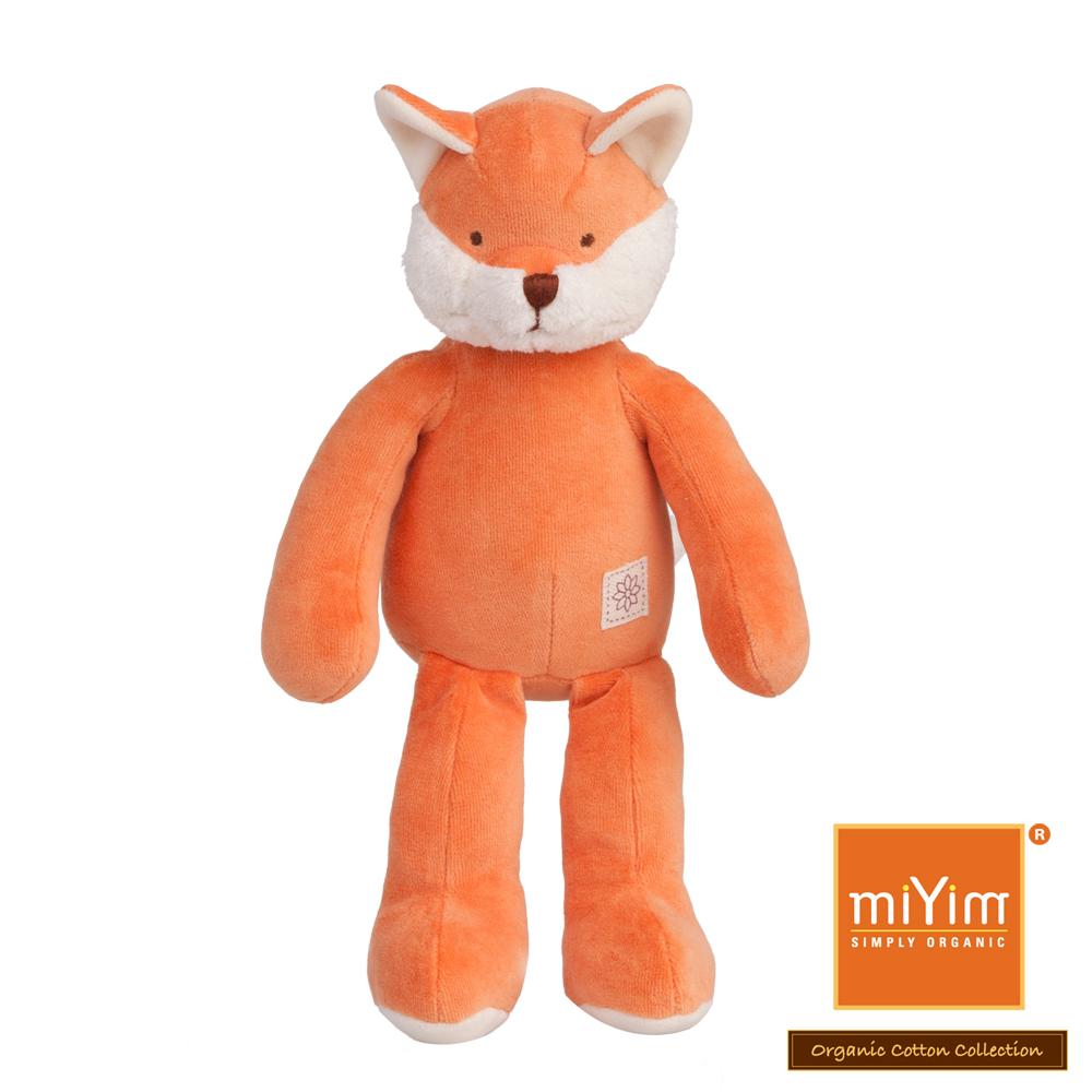 美國miYim有機棉安撫娃娃 故事書系列-福斯小狐