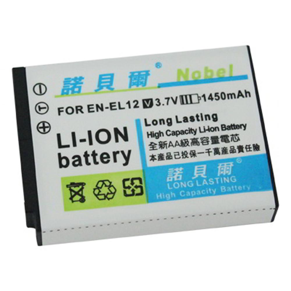 諾貝爾 NIKON EN-EL12 長效型高容量鋰電池